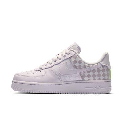 Calzado a cuadros para mujer Nike Air Force 1 Low