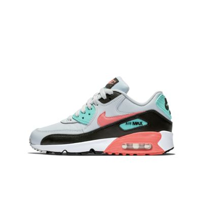 new concept 8b044 4c154 Nike Air Max 90 Leather Big Kids  Shoe