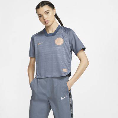 Camisola de futebol de manga curta Nike F.C. Dri-FIT para mulher