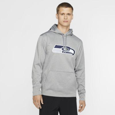 Ανδρική μπλούζα με κουκούλα Nike Circuit Logo Essential (NFL Seahawks)