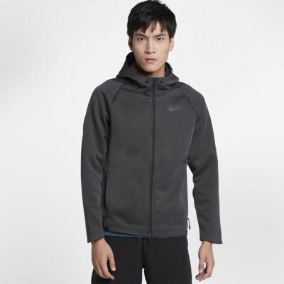Nike Therma 男子连帽全长拉链开襟训练夹克