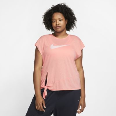 Nike Dri-FIT Women's Short-Sleeve Training Top (Plus Size)