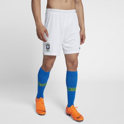 2018 Brazil CBF Stadium Away Men's Football Shorts