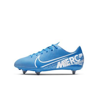 Fotbollssko för vått gräs Nike Jr. Mercurial Vapor 13 Academy SG för barn