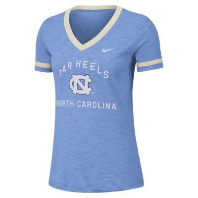 Nike College Dri-FIT Fan (UNC) Women's Short-Sleeve V-Neck Top