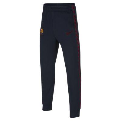 Calças de lã cardada FC Barcelona Júnior