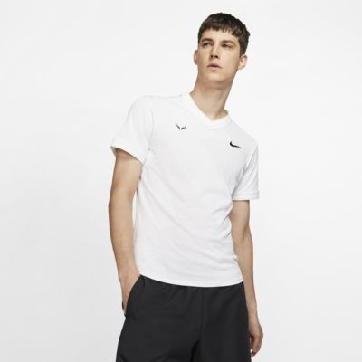 NikeCourt AeroReact Rafa Men's Short-Sleeve Tennis Top