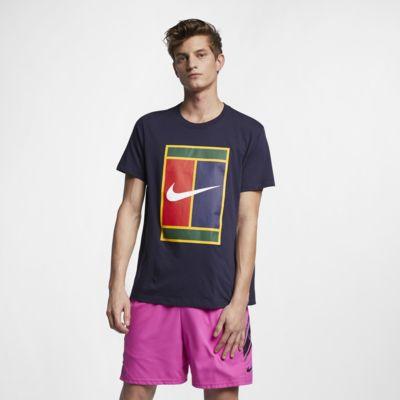 Мужская теннисная футболка с логотипом NikeCourt