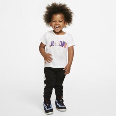 Jordan kétrészes szett (póló és szabadidőnadrág) babáknak