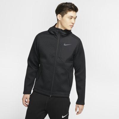 Chamarra de entrenamiento con capucha y cierre completo para Hombre Nike Therma