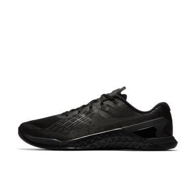 Мужские кроссовки для тренинга Nike Metcon 3, Черный/Черный, 18146991, 11255882  - купить со скидкой