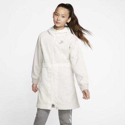 Nike Sportswear Older Kids' (Girls') Fleece Parka