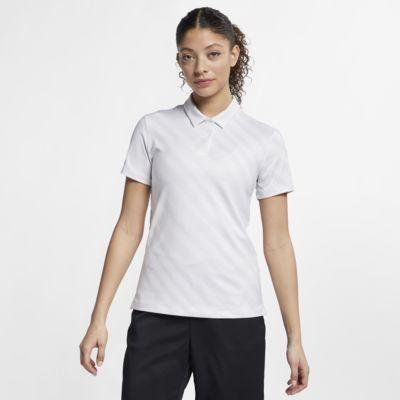 Nike Dri-FIT UV Golfpolo met print voor dames