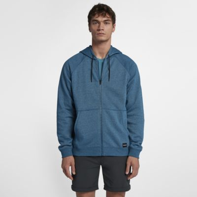 Hurley Crone Hooded Full-Zip Men's Fleece Hoodie