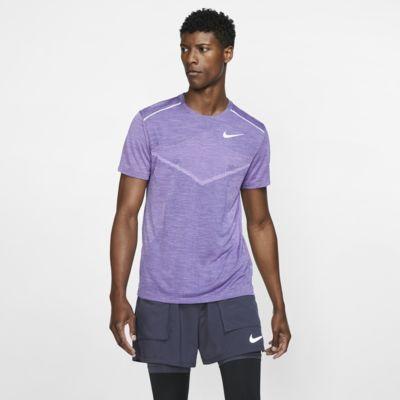 Ανδρική κοντομάνικη μπλούζα για τρέξιμο Nike TechKnit Ultra