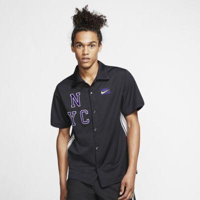 NikeCourt Kısa Kollu Tenis Üstü