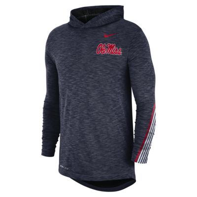 Nike College (Mississippi) Men's Long-Sleeve Hooded T-Shirt