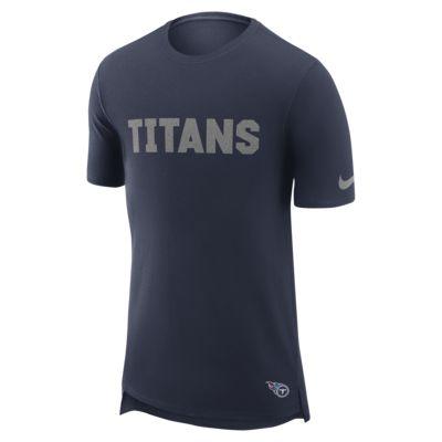Nike Enzyme Droptail (NFL Titans) férfipóló