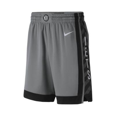 Short de NBA Brooklyn Nets Statement Edition Swingman Nike pour Homme