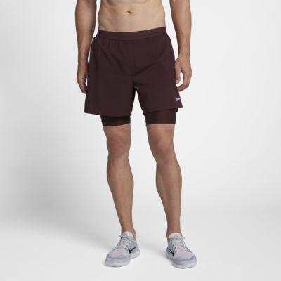 กางเกงวิ่งขาสั้น 5 นิ้วผู้ชาย Nike Flex Stride 2-in-1