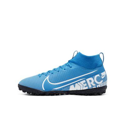Nike Jr. Mercurial Superfly 7 Academy TF 小/大童人工草地足球鞋
