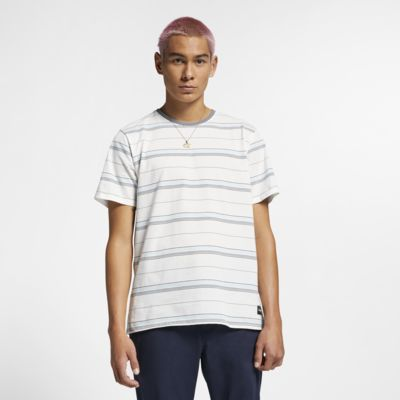 Hurley Dri-FIT Harvey gestreiftes Herrenoberteil