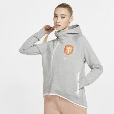 Fotbollscape Netherlands Tech Fleece för kvinnor