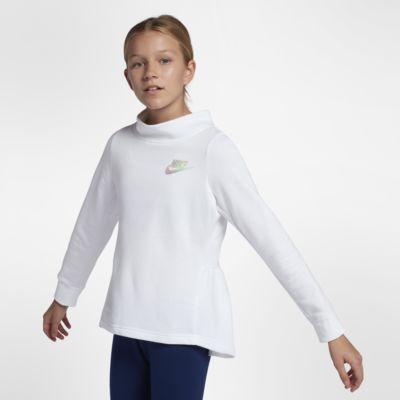Nike Sportswear Big Kids' (Girls') Fleece Crew