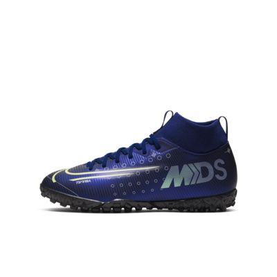 Nike Jr. Mercurial Superfly 7 Academy MDS TF műgyepre készült futballcipő kisebb/nagyobb gyerekeknek