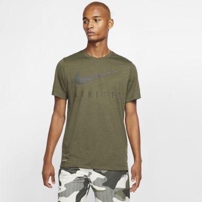 Tee-shirt de training avec Swoosh Nike Dri-FIT pour Homme