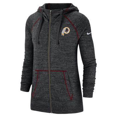 super popular 49b35 0aba1 Nike Gym Vintage (NFL Redskins) Women's Full-Zip Hoodie