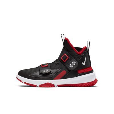 reputable site 3747b 1e937 LeBron Soldier 13 FlyEase Big Kids' Basketball Shoe