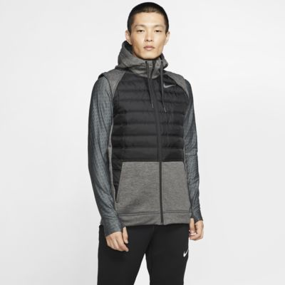 Veste sans manches de training entièrement zippée Nike Therma pour Homme