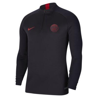 Nike VaporKnit Paris Saint-Germain Strike Erkek Futbol Antrenman Üstü