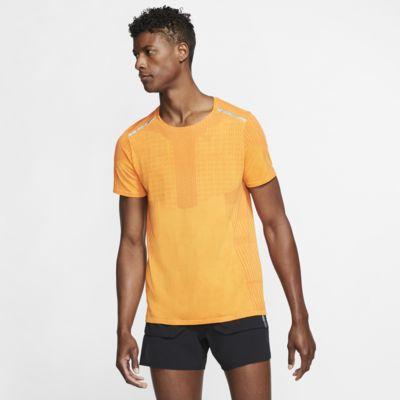 Nike Tech Pack Kısa Kollu Erkek Koşu Üstü