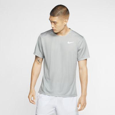 Nike Miler Hardlooptop met korte mouwen voor heren