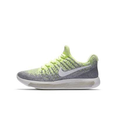 Nike LunarEpic Low Flyknit 2 GS 大童跑步童鞋
