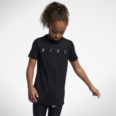 Nike Dri-FIT Big Kids' (Girls') Short Sleeve Training Top