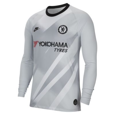Chelsea FC 2019/20 Stadium Goalkeeper Erkek Futbol Forması