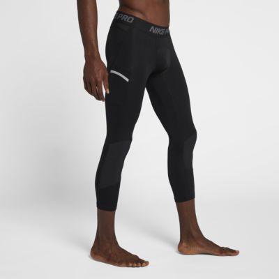 Nike Pro Dri-FIT3/4 男子篮球训练紧身裤