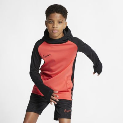 Nike Dri-FIT Academy Older Kids' Football Pullover Hoodie