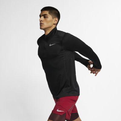 Pánský běžecký top s polovičním zipem Nike Pacer