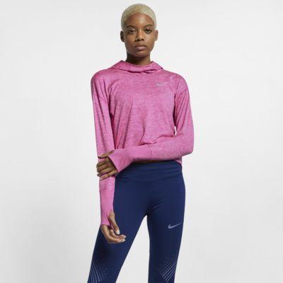 Damska bluza z kapturem do biegania Nike