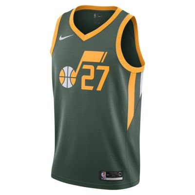 Rudy Gobert Earned Statement Edition Swingman (Utah Jazz) Nike NBA connected jersey voor heren