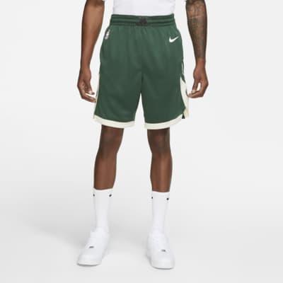 Short NBA Milwaukee Bucks Nike Icon Edition Swingman pour Homme
