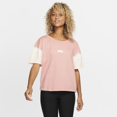 Hurley One And Only Small Box Sleeve Dye Flouncy Women's T-Shirt