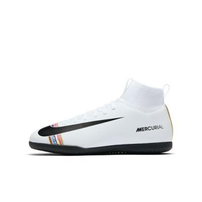 Nike Jr. SuperflyX 6 Club IC-fodboldsko til små/store børn (indendørs bane)