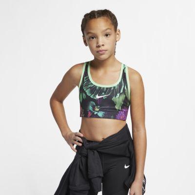 Vändbar sport-BH Nike Classic för tjejer