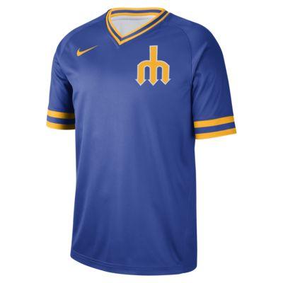 Nike Legend V-Neck (MLB Mariners) Men's T-Shirt