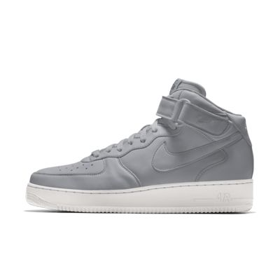 Chaussure personnalisable Nike Air Force 1 Mid By You pour Homme